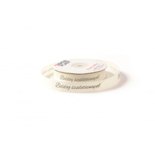 Szülinapos ripsz szalag / 1,5cm X 20y