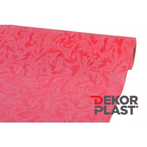 Inda mintás vetex (sötét rózsaszín)