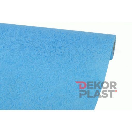 Virág mintás vetex (kék)